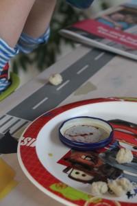 Frühstück durch Kinderaugen