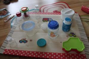 Schraubspiel a Montessori- DIY