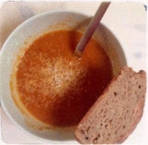 Tomaten-Birnen-Suppe