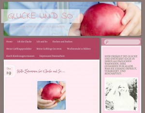 altes Logo Apfel Blog bloggerin