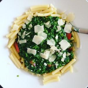 Nudeln_Spinat_Parmesan