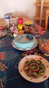 Tisch zum Geburtstag