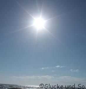 Sonnenschein ein Gluecklichmacher