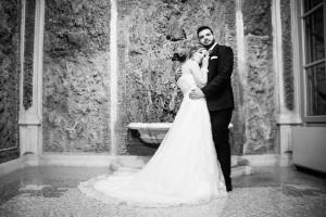 Hochzeit Paar Kleid