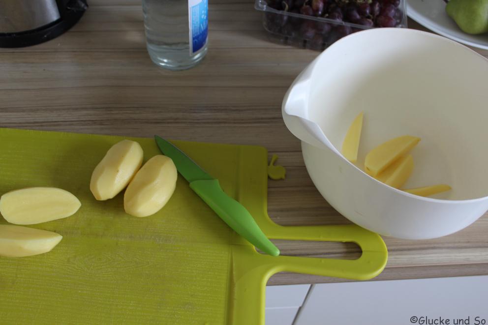 Kartoffelspalten, Kartoffeln