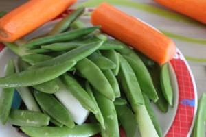 Rezept und Salat am Muttertagswochenende