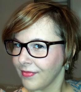 feierSun Profil Brille Kurze Haare