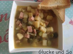 Suess-Saure Kartoffelstueckchen