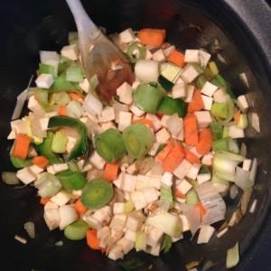 Kartoffelsuppe-gemuesewuerfel