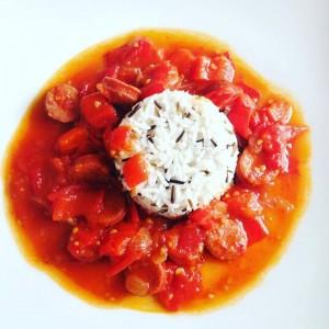 Paprikamatsch Rezept Paprikabeißer Reis Tomaten