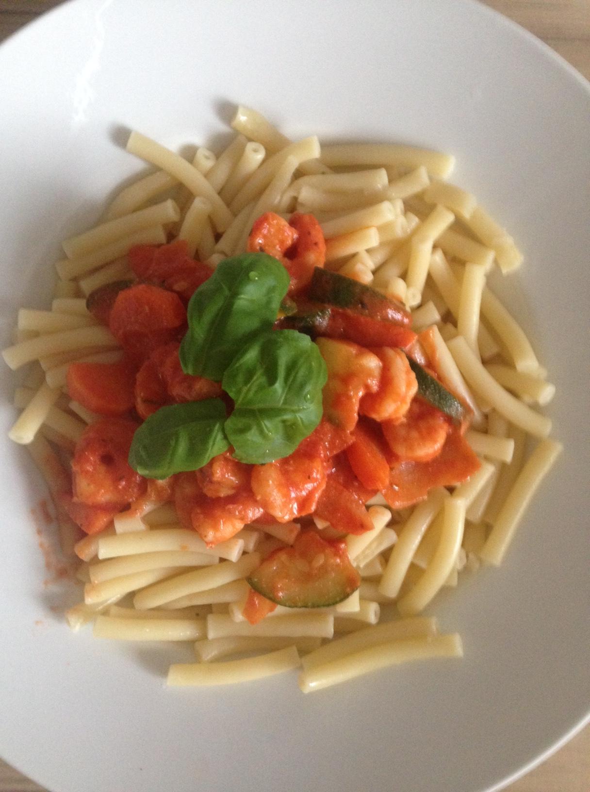 Macaroni _Tomaten_Schmand_Sosse