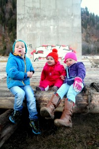 3 Kinder aus ganzem Herzen