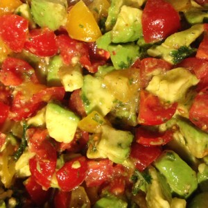 Avocado-Tomaten-Salat
