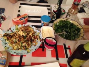 #WmdedgT am 05.Februar_Omelett_Salat