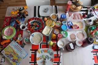 Osterwochenende_Frühstück