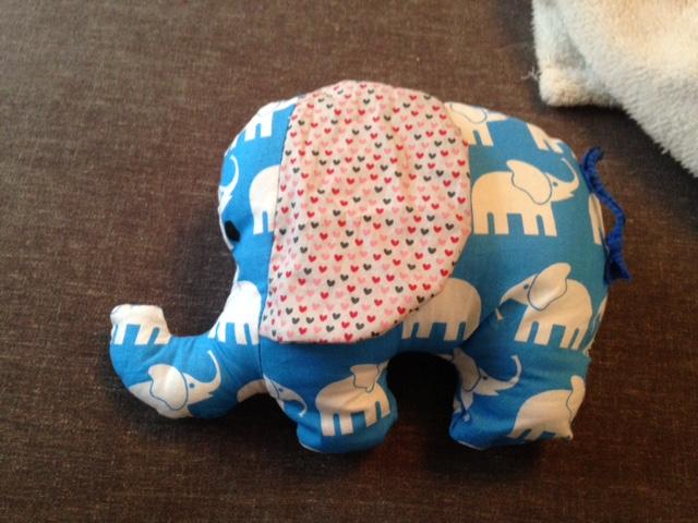 naehen Osterwochenende Elefant
