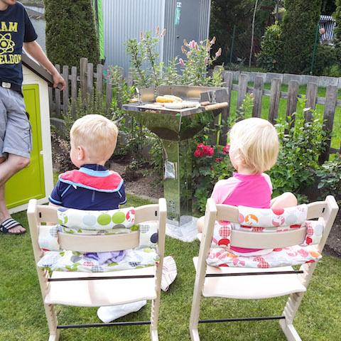 Grillfans Tripp Trapp Garten Zwillinge