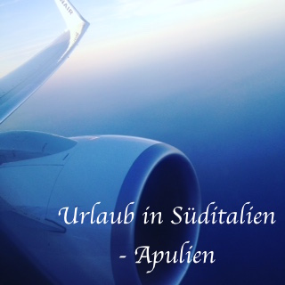 Ryan-Air-Start Apulien Urlaub
