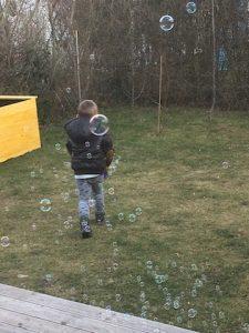 Seifenblasen-Liebe