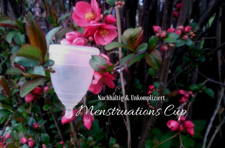 Menstruationstasse nachhaltig unkompliziert Menstruations Cup MonthlyCup menstrual cup