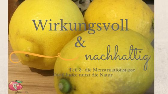 Wirkungsvoll-Menstruationstasse