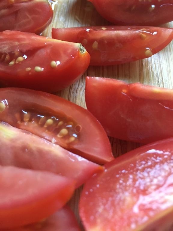 Tomaten-Kichererbsen