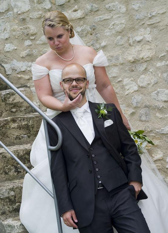 Hochzeit von Max und Julia Hartmann am 31.07.2010 in Ingelheim, Burgkirche, Sektempfang im Rosengarten und Feier im Margaretehhof in Schwabenheim<br />