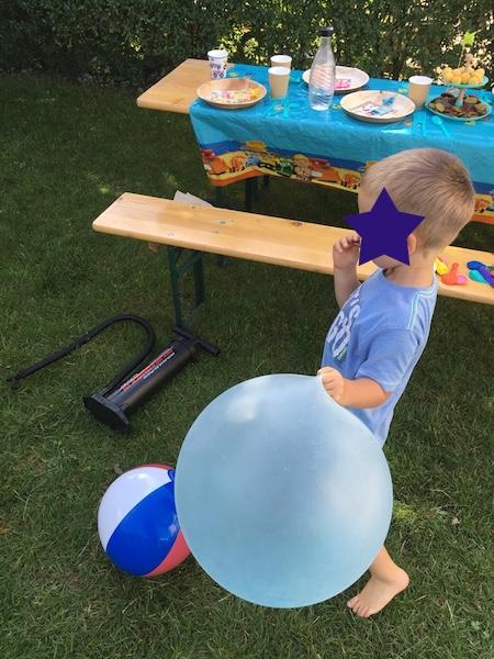 Geburtstagsparty-Amigo-Ball