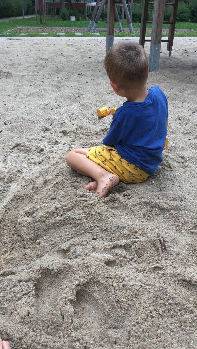 Sand Spiel Bagger Fantasie