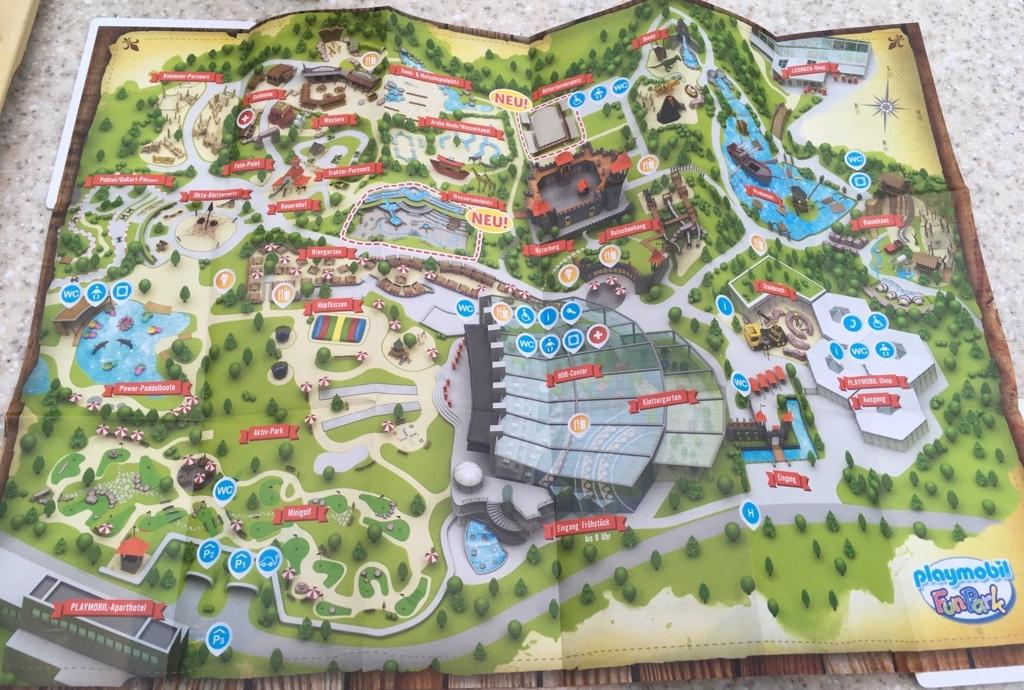 Playmobil FunPark Parkplan