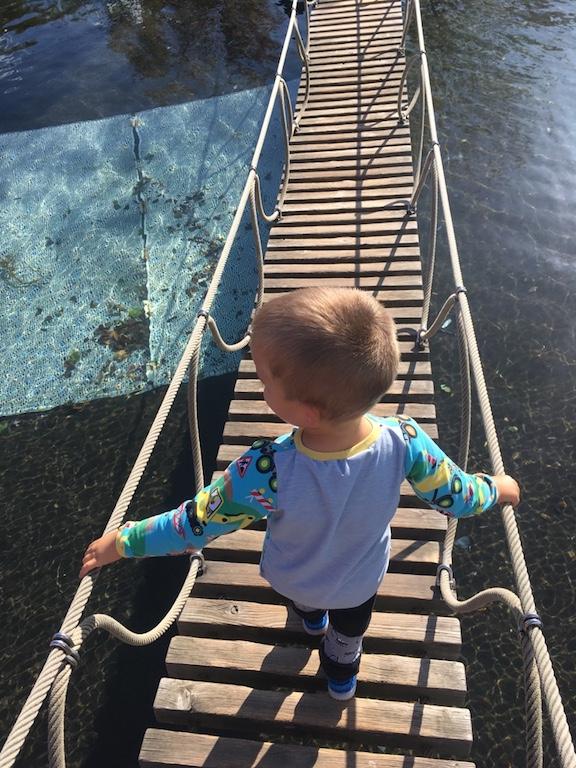 Playmobil FunPark Wasserbrücke