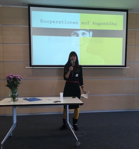Marsha spricht über Kooperationen, Blogger relations, PR-Sicht, Bloggersicht