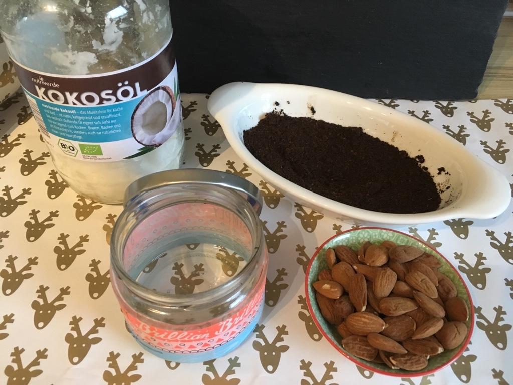 DIY-Bade-Peeling-Kaffeesatz
