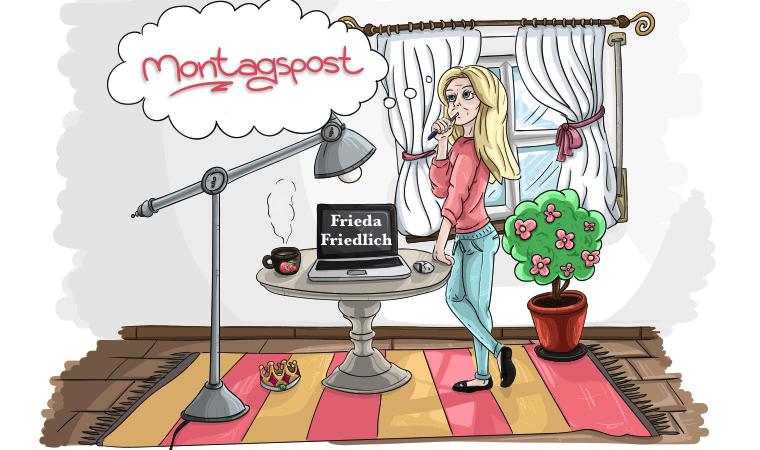 Montagspost-Frieda-friedlich