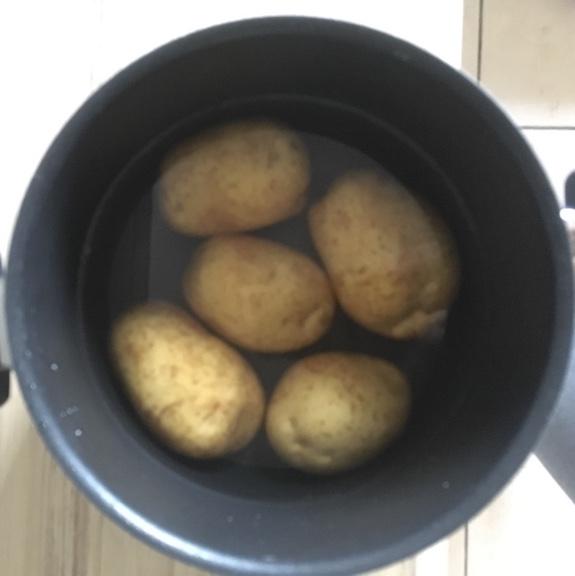 Quarkkeulchen-Kartoffeln