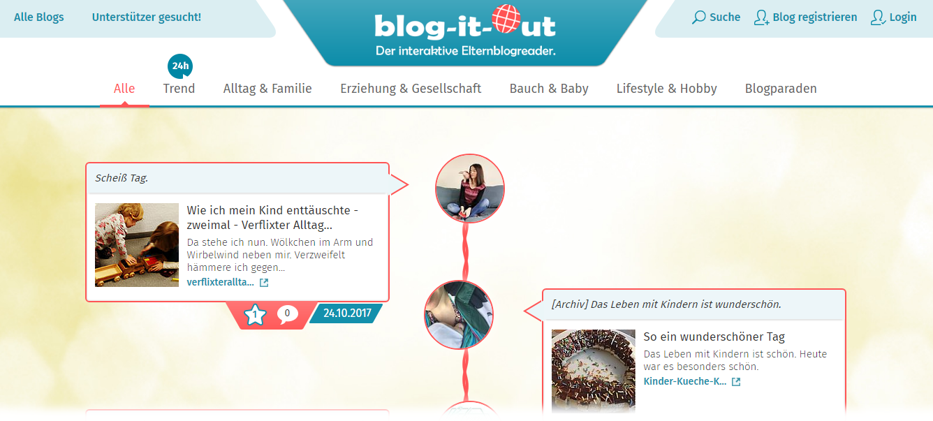 Website blog it out lieblingsblogs