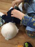 Baby-Kruemel-Pflege