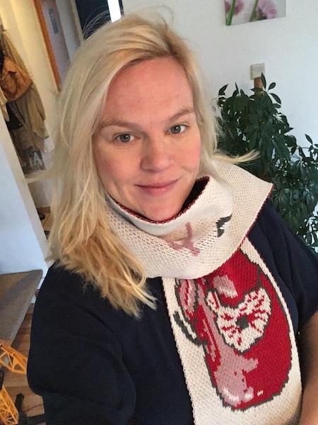 WOOLLAA-Bloggeschenk-Schal