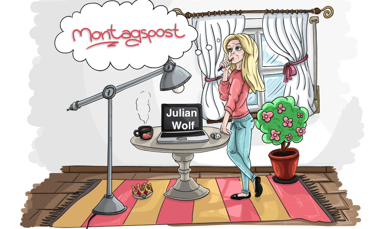Lila Winkelbaum-Julian Wolf-Montagspost