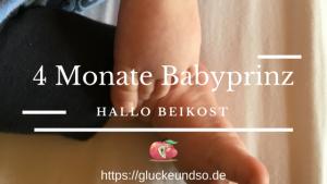 4 Monate Babyprinz Beikost