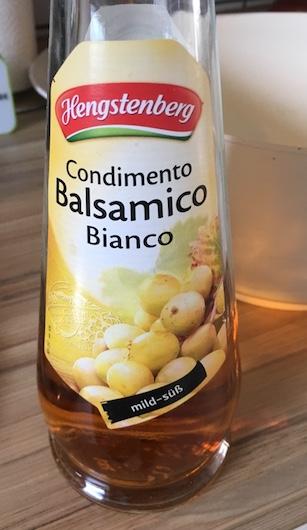Fischsuppe weisser Balsamico