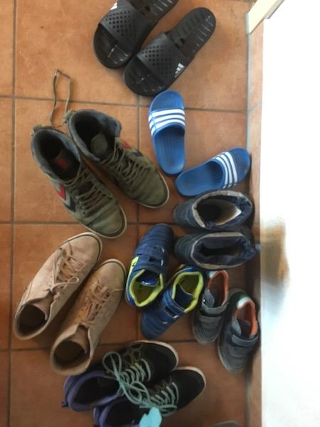 Schuhe für 5 Tage-eibtaler