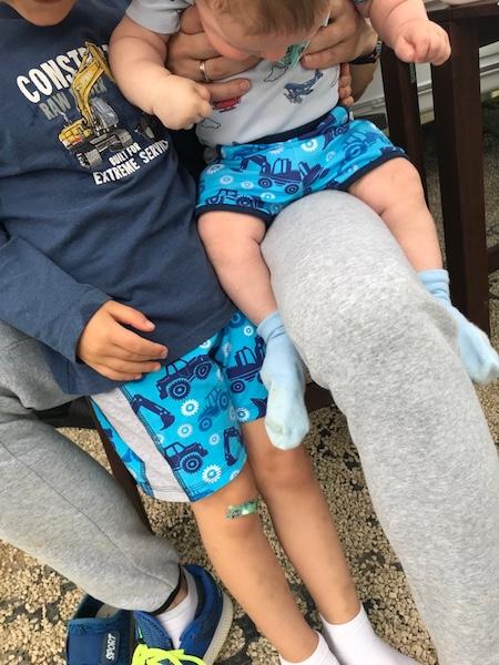 hegi familien camping Babauba kurze shorts Jungen
