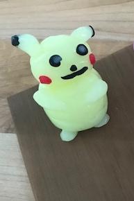 CrazyClay Pikachu Leuchtknete