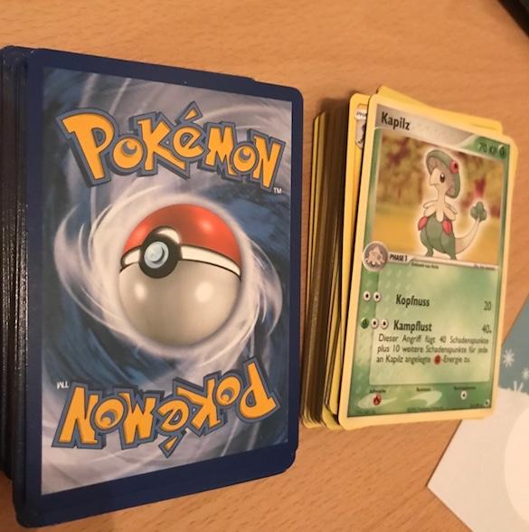 Adventskalender-Pokemon-Sammelkarten