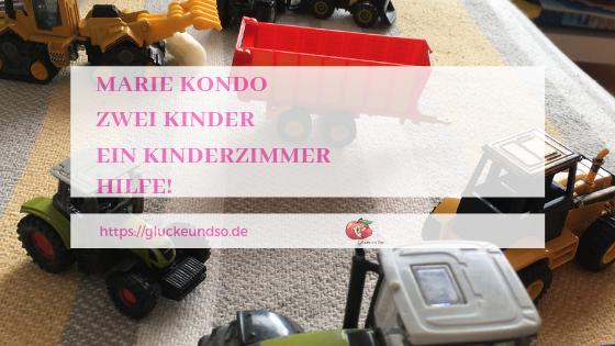 Marie Kondo Zwei kinder Ein kinderzimmer Hilfe