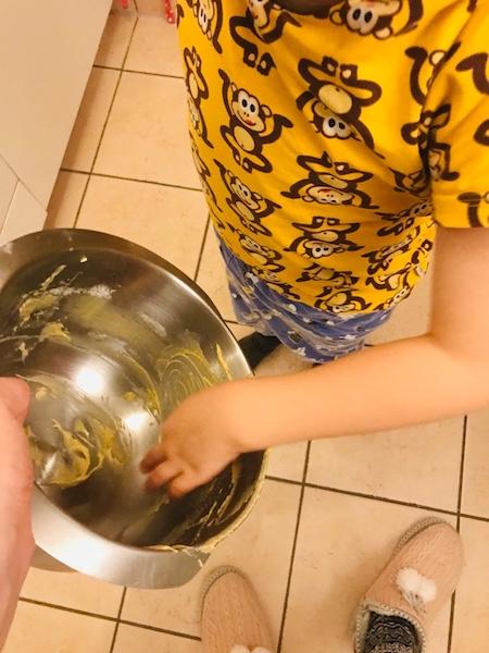 Maulwurfkuchen Teignascher