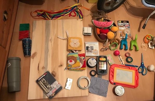 busy board Bestandteile