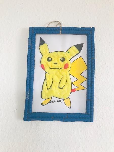 pokemon DIY Bild aufhaengen