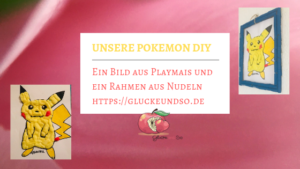 pokemon DIY Playmais Nudeln